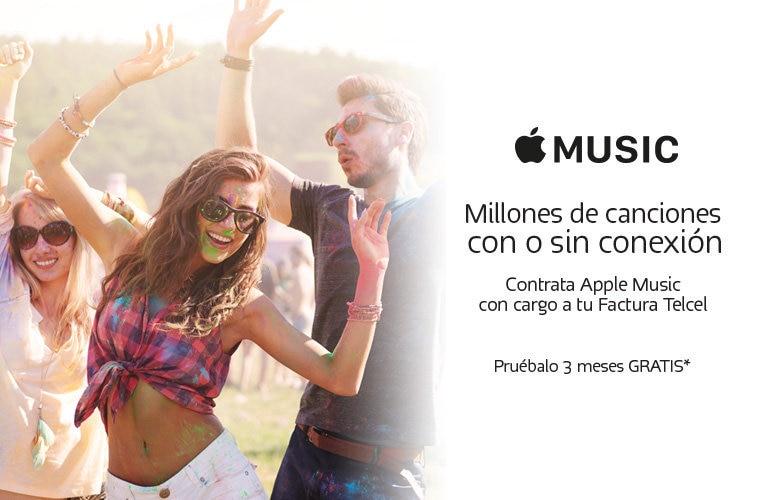 Ahora podrás pagar Apple Music con cargo a tu factura de Telcel