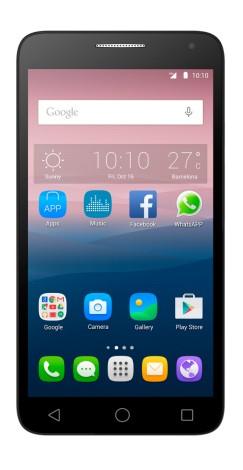 Alcatel Pop3 5 5 5025g  Es El Smartphone Que Ocupas