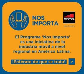 el programa nos importa es una iniciativa de la industria movil en america latina