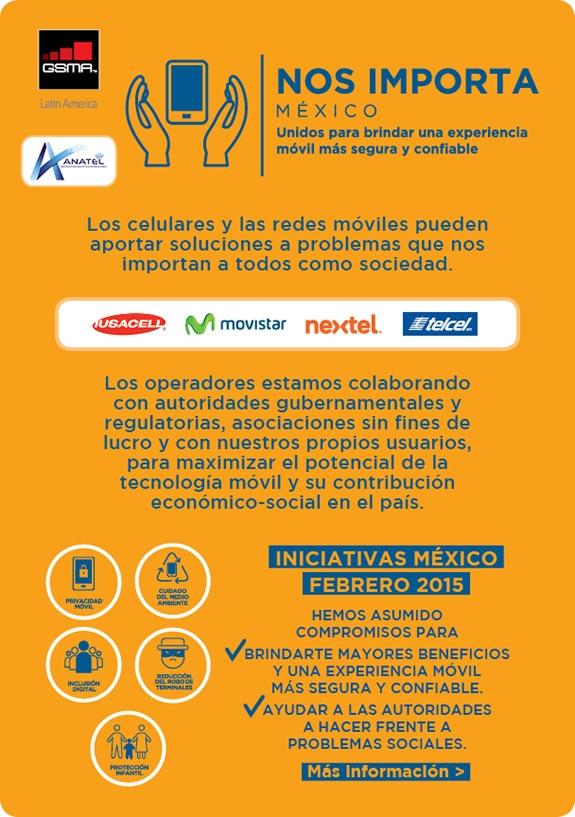 infografia con datos sobre el programa nos importa mexico