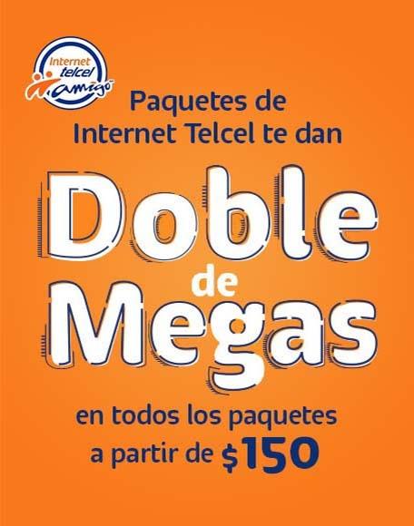 Paquetes De Internet Con Doble De Megas Promociones Telcel